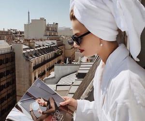 fashion magazine, relax, and sunday morning image