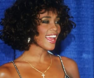 whitney houston and beautiful image