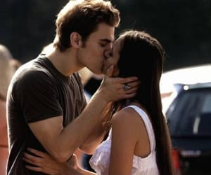 kiss, tvd, and stelena image