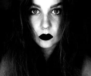 alternative, black&white, and sad image