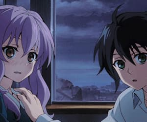 anime, cute, and shinoa x yuu image