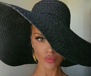 fashion, beauty, and hat image