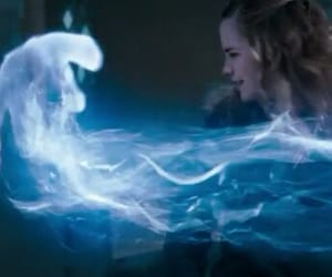 emma watson, expecto patronum, and harry potter image
