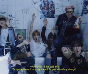 jin, kpop, and words image