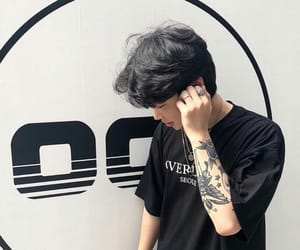 aesthetic, alternative, and asian boy image