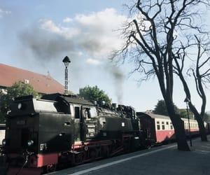 harry potter, hogwarts, and railway image