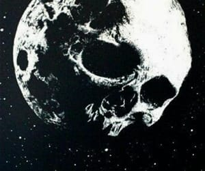 moon and skull image