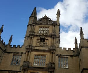 oxford, tall building, and uk image