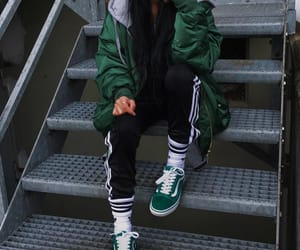 fashion, green, and vans image