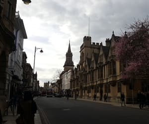 oxford, road, and spring image
