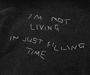black, Dream, and feelings image