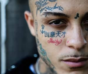 boy, pretty, and face tattoos image