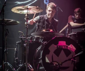 article, crown the empire, and brent taddie image