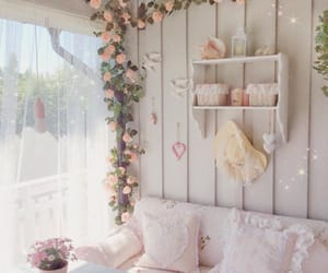 country chic, flowers, and vintage image