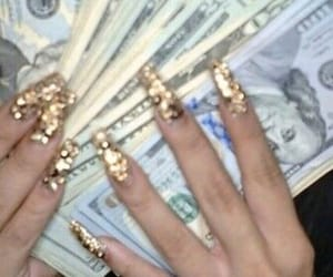 gold, money, and rich image