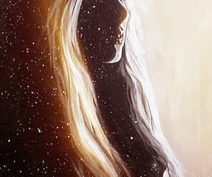 woman universe art image