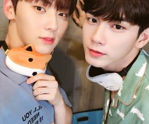 wanna one, minhyun, and seongwoo image