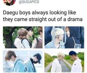 k-pop, bts, and daegu boys image
