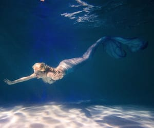fantasy, ocean, and sirena image
