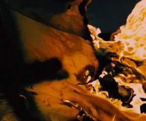 fire, gif, and Lyrics image