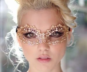 blond, pretty, and green eyes image