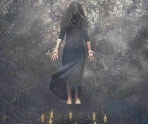 black, magick, and witch image