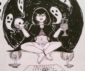 ghosts, witch, and spirit communication image