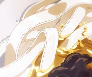 anime, gif, and egg image