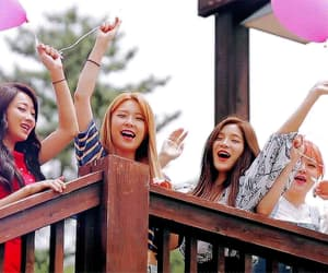 gif, nine muses, and group image
