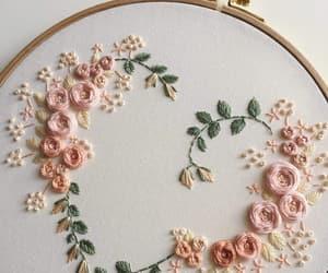 beauty, تطريز, and embroidery image