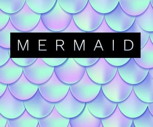 background, mermaid, and samsung image