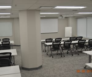 business, rooms, and training image