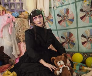 dolls, goth, and grunge image
