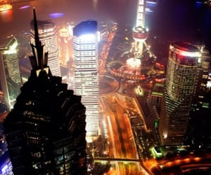 china, financial district, and shanghai image