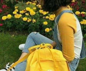 aesthetic, yellow, and kanken image
