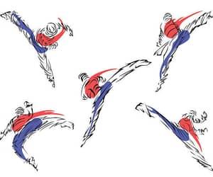 korea, south korea, and taekwondo image