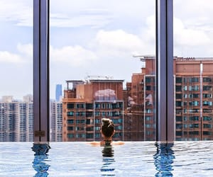china, hong kong, and hotel image