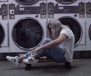 aesthetic, mood, and skateboarding image