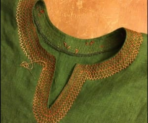 embroidery, fashion, and sewing image