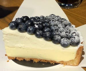 blueberry, tasty, and pie image