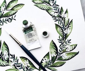 green, art, and drawing image