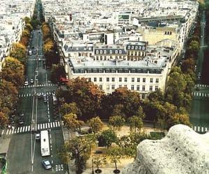 arc de triomphe, city, and france image
