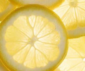 green, lemons, and white image