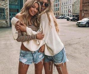 best friends, friends, and friendship goals image
