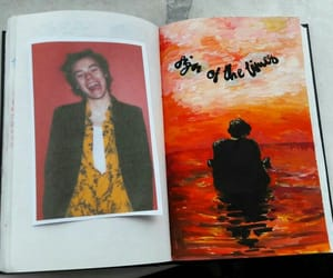 aesthetic, red, and harrystyles image