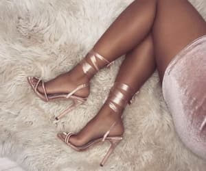pink., shoe, and wow image