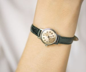 etsy, mid century watch, and tiny woman watch image