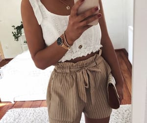 fashion, goals, and white top image