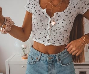 fashion, inspiration, and jeans shorts image