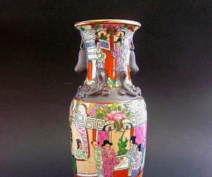 chinese, multi colors, and pottery image